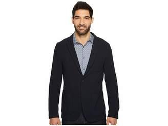 Perry Ellis Slim Fit Stretch Texture Knit Jacket Men's Jacket