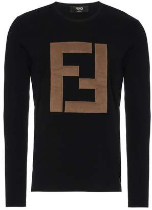Fendi Wool logo sweater