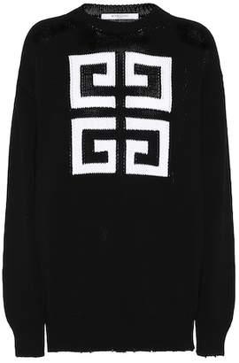 Givenchy Intarsia cotton sweater