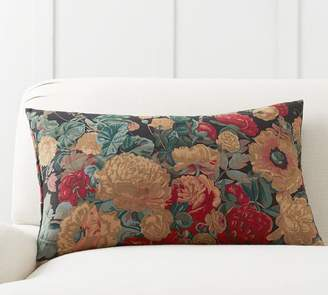 Pottery Barn Amela Floral Print Pillow Cover