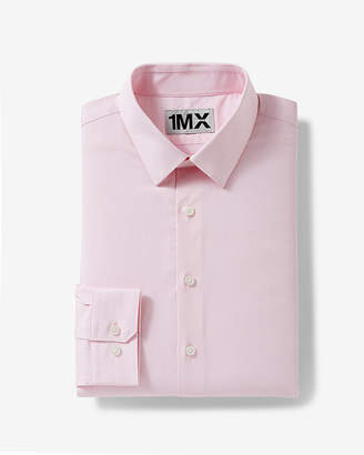 Express Slim Easy Care Textured 1Mx Shirt