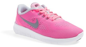 Girl's Nike 'Free Rn' Running Shoe $80 thestylecure.com