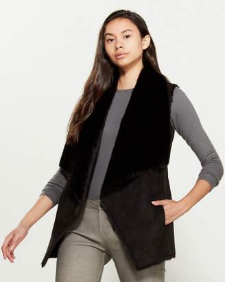 Love Token Jorja Faux Fur-Lined Vest