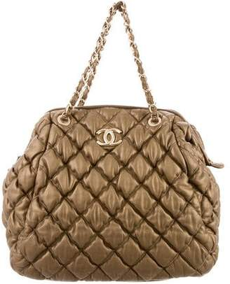 Chanel Bubble Quilt Frame Bag