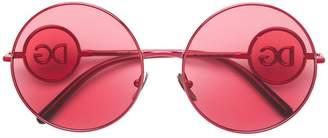 Dolce & Gabbana Eyewear oversized round sunglasses