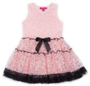 Betsey Johnson Little Girl's Sequin Tulle Dress