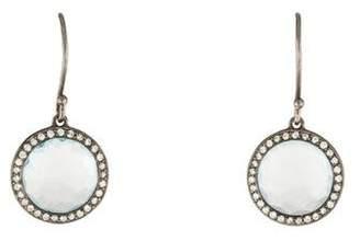 Ippolita Topaz & Diamond Drop Earrings