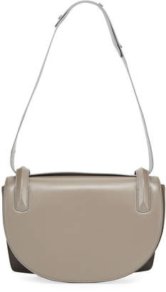 Rodo Two-Tone Leather Shoulder Bag