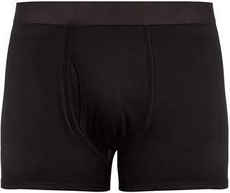 Sunspel Cotton-jersey boxer trunks