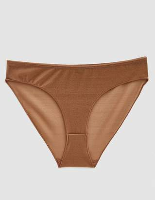 Base Range Baserange Pam Sheer Panty in Gold
