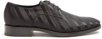 Balenciaga Logo-jacquard derby shoes