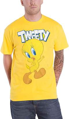 Looney Tunes Merch T Shirt Tweety New Official Mens