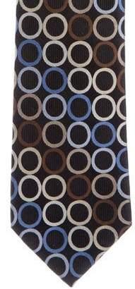 MICHAEL Michael Kors Geometric Jacquard Silk Tie