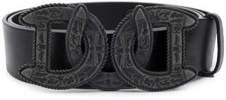 DSQUARED2 Western DD buckle belt