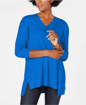 Style&Co. Style & Co High-low Over-sized Tunic Top