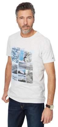 RJR.JOHN ROCHA RJR.John Rocha - Big And Tall Grey Printed T-Shirt