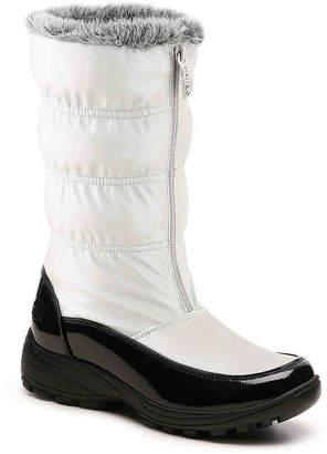 Women's Totes Rachel Snow Boot -Light Silver $65 thestylecure.com
