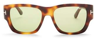 Tom Ford Stephen 54mm Square Sunglasses