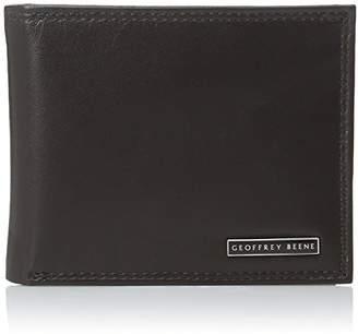 Geoffrey Beene Leather Men's Passcase Billfold Wallet