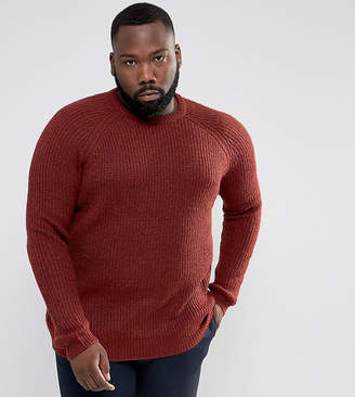 D-Struct PLUS Chunky Ribbed Crew Neck Sweater
