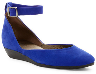 Arche Onyna Wedge Ankle Strap Flat $345 thestylecure.com