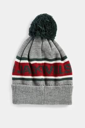 0ba324057bc Next Mens Jack Wills Grey Marl Kitson Intarsia Hat