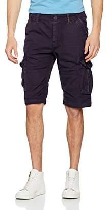 Superdry mens Core Cargo Lite Straight Leg Shorts, Blue (True Indigo BDM), 32