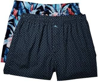 Tommy Bahama Island Washed Cotton Woven Boxer Set Men's Underwear