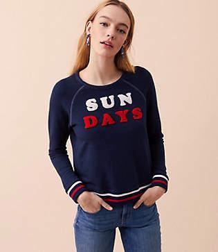 Lou & Grey Sundry Sun Days Pullover
