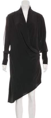 Haute Hippie Silk Wrap Dress
