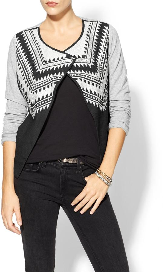 See by Chloe Sabine Embroidered Knit Jacket