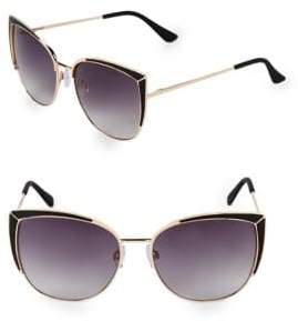 Fantas-Eyes 58MM Butterfly Sunglasses