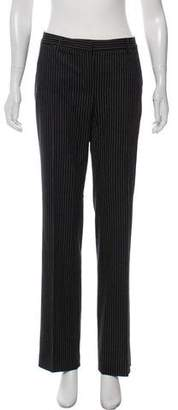 Theory Mid-Rise Pinstripe Pants
