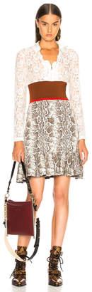 Chloé Lace Top Mini Dress