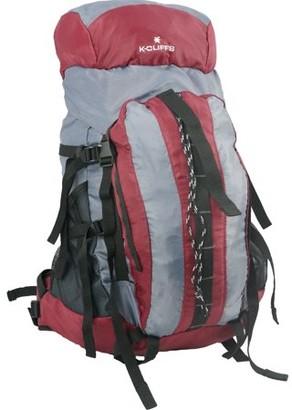 K-Cliffs K Cliffs Hiking Backpack Scout Camping Backpack Large Internal Frame Daypack Travel Pack Bag Maroon