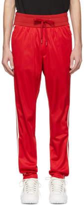Dolce & Gabbana Red Crown Lounge Pants