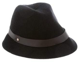 Inverni Cashmere Brimmed Hat