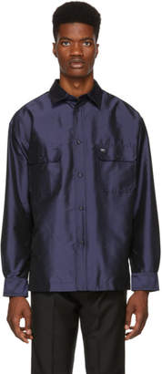Kenzo Navy Flying Casual Over Shirt