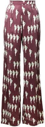 Jill Stuart Electra print trousers