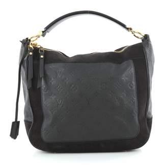 Louis Vuitton Blue Leather Handbag