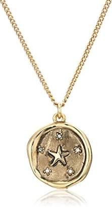 Rachel Roy Womens Talisman Star Pendant Chain Necklace