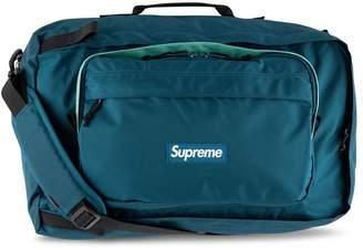 Supreme logo duffle bag