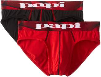 Papi Men's 2-Pack Microfusion Performance Brief