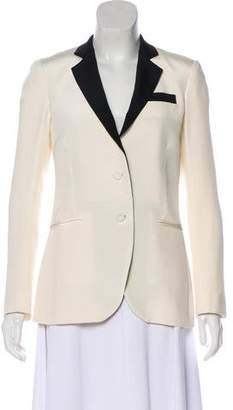 Haute Hippie Silk Button-Up Blazer