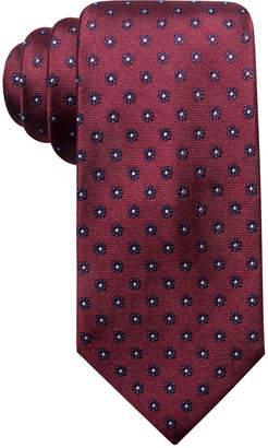 Club Room Men Sterling Classic Floral Silk Tie