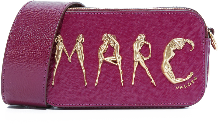 Marc JacobsMarc Jacobs Flashed Snapshot Camera Bag