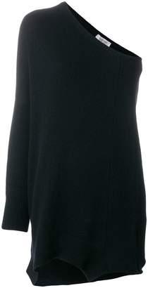 Valentino cashmere one shoulder jumper