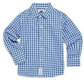 English Laundry Little Boy's Gingham Shirt