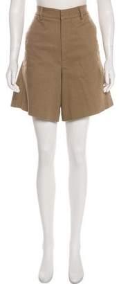 Acne Studios High-Rise Knee-Length Shorts
