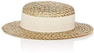 Eugenia Kim Women's Brigitte Straw Boater Hat